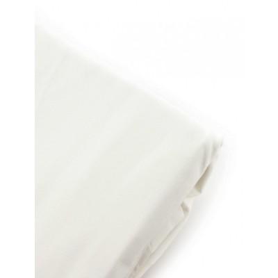 Простынь на резинке джерси белая (Z)