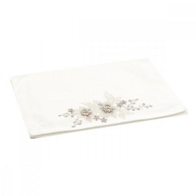 Полотенце махровое хлопковое с вышивкой